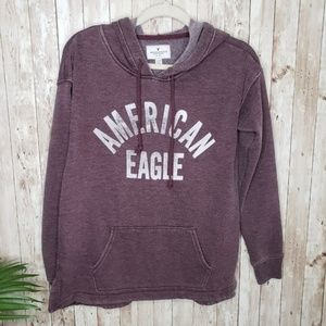 American Eagle | Small Purple Soft Hoodie J01